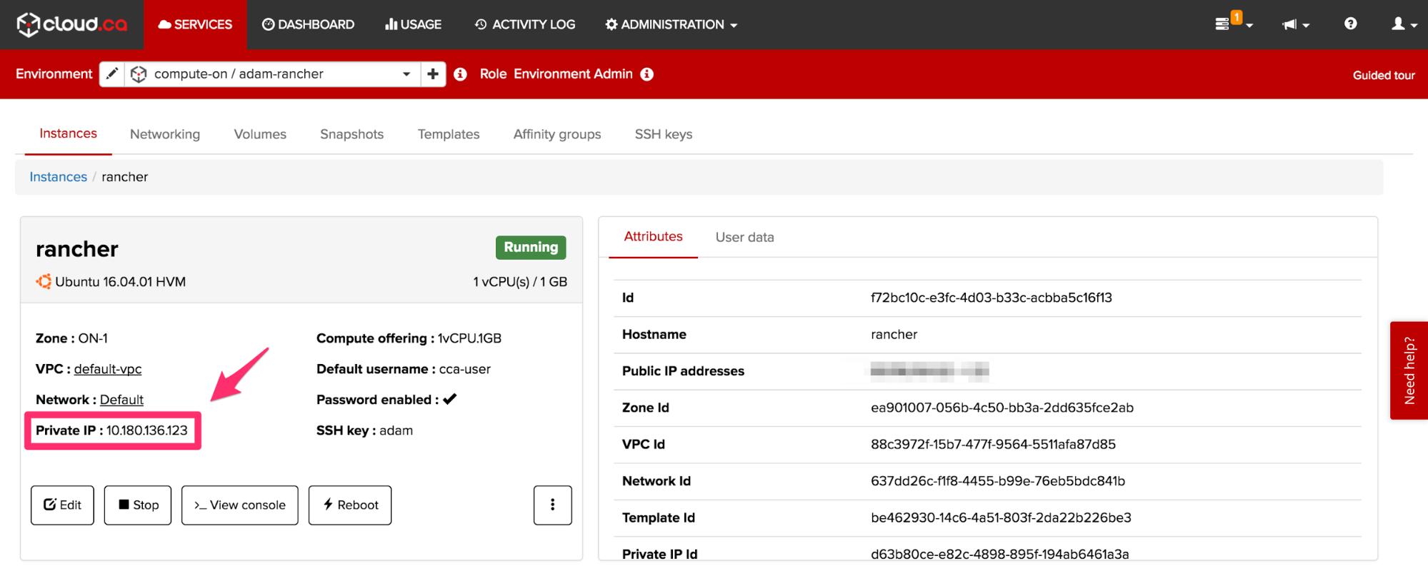 cloud.ca private IP.png